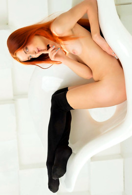 Redhead Bailey E likes Passion and happy life